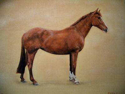 Sienna Painting