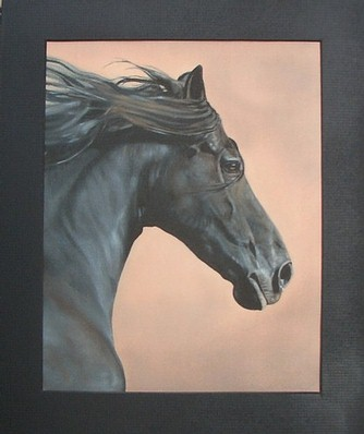 Black Horse Mounted Final