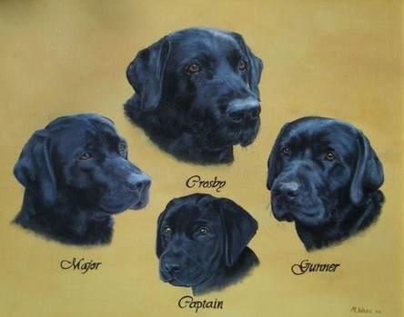 Labradors 4 Painting