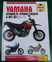 USED - Haynes Yamaha XT660 & MT-03 Manual Workshop Manual