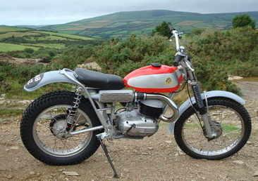 Bultaco grey goneli