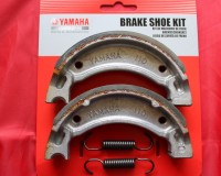 8 & 9. OEM Front Brake Shoes & Springs - TY125 & TY175