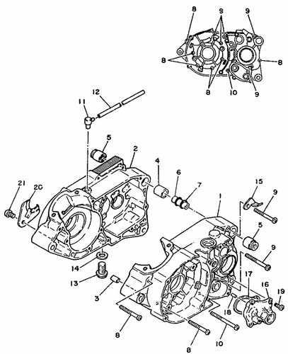 Yamaha Ty125 Parts