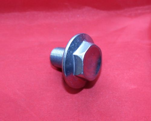 10. Flanged Steering Head Bolt - TY250 Twinshock