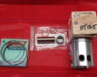 16-20. NOS OEM Piston Kit - 0.75o/s - TY125