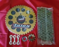 Full Chain & Sprocket Kit - TY250 Twinshock - 43 Tooth Flat Rear