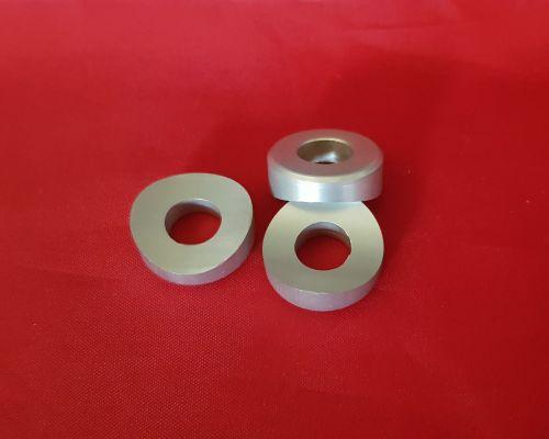 Set of Three Aluminium Rim Lock Spacers