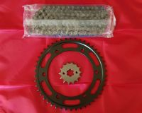 Chain & Sprocket kit - XT225 Serow with Disk Rear brake