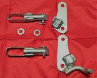 4/5. Trials Big Footrest & Bracket Kit -  TY80