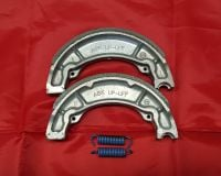 5 & 6. OEM Front Brake Shoes - TY350 & TY250 Monoshock
