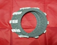 8. Clutch Friction Plate Set - XT225 Serow - 1989 ONWARDS