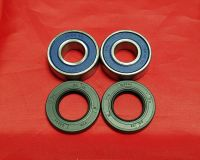 2 & 4. Front Wheel Bearing & Seal Kit - TY250 Monoshock - Disc Brake Models