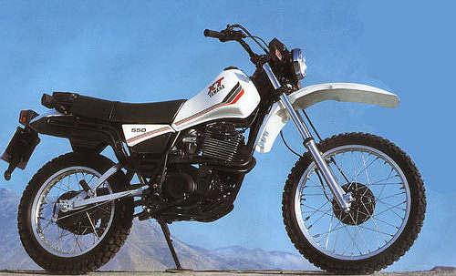 XT550 & XT400 Series 2 (Monoshock) Parts - Trail & Trials UK Ltd