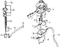 TL125K Carb Parts
