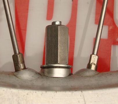 Rear Rim Lock Nut & Spacer