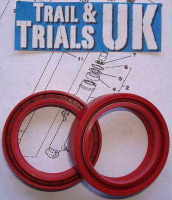 4. Front Fork Seals - TY250 Twinshock