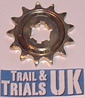 28. Front Sprocket  - TY125 & TY175