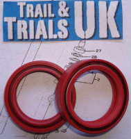 4. Front Fork Seals -TY125 & TY175