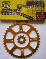 Chain & Sprocket Kit - TY350 & TY250 Monoshock