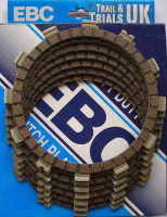 5. Clutch Friction Plate Set - TY250 Twinshock
