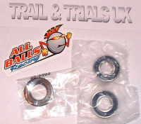 4, 5 & 6. Front Wheel Bearing Kit - XT250 & TT250