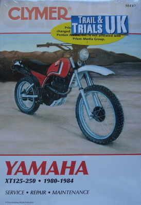 clymer yamaha xt125 xt200 workshop manual rh tytrials co uk Yamaha XT 250 Dual Sport 1982 Yamaha XT 200 Specs