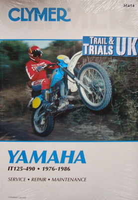Clymer Yamaha IT Enduro Workshop Manual