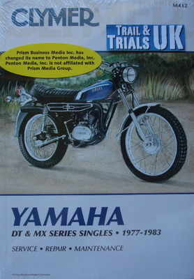 clymer yamaha dt250 trail bike workshop manual rh tytrials co uk 1977 yamaha dt 250 service manual 1968 Yamaha DT 250