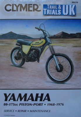 Clymer Yamaha DT Twinshock Trail Bike Workshop Manual