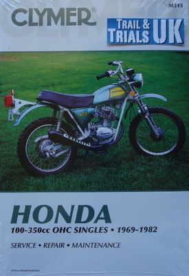 clymer honda tl125 tl250 workshop manual rh tytrials co uk Kawasaki Dirt Bikes 1992 125 CC Kawasaki Dirt Bikes 1992 125 CC
