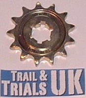 Front Sprocket  - TY125 & TY175