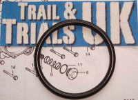 Oil Filter Screen Cap O-Ring - TL125 K & S Models