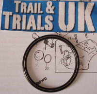 26. Tappet Cover O-Ring - TLR250 Twinshock