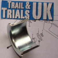 Exhaust Collet - TL125 K & S Models