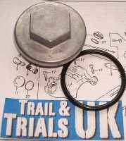 Tappet Cover Bolt & O-Ring - TL125 K & S Models