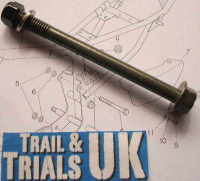 4, 5 & 6. Upper Rear Engine Mounting Bolt - TY80