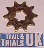 8. Front Sprocket -  TY250 Twinshock