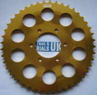 3. Rear Sprocket - 44t - TY250 Twinshock