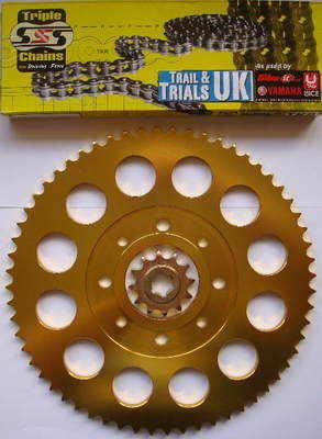 Chain & Sprocket Kit - TL250