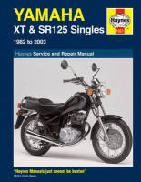 Haynes Yamaha 125 4 Stroke Singles Workshop Manual