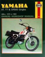Haynes Yamaha 500 Singles Workshop Manual