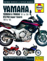 Haynes Yamaha 750 & 850 Twins Workshop Manual