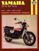 Haynes Yamaha 250 & 350 Twins Workshop Manual