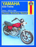 Haynes Yamaha 650 Twins Workshop Manual