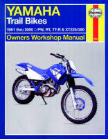 Haynes Yamaha XT350 Trail Bikes Manual