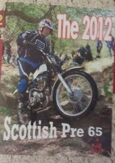 Chris Gascoigne 2012 Pre65 Scottish Ariel CJB DVD