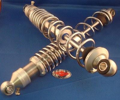 Pair of Betor Classic Aluminium Trials Shocks - 360mm