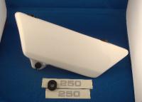 23-27. Sidepanel Assembly - TY250 Twinshock