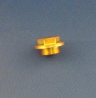 17 & 18. Carb Drain Plug & O-Ring