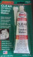 Tube of Clear Silicone Instant Gasket